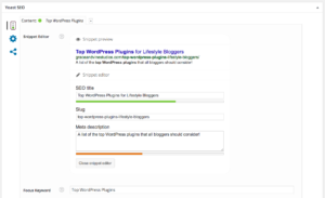 Top WordPress plugins for SEO