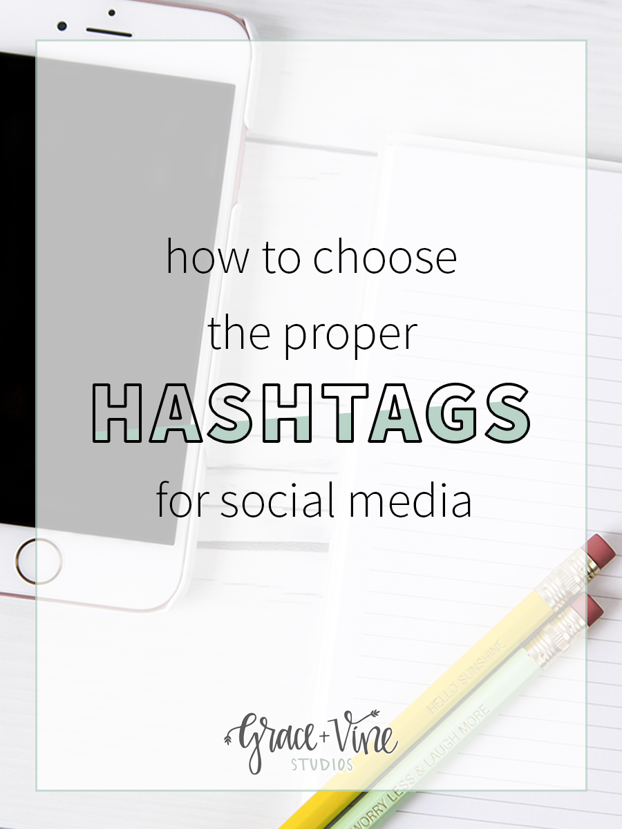 Choosing the proper hashtags for your social media posts can make a huge difference! Learn from these tips.