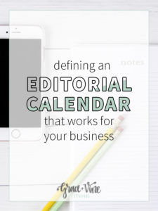 There is a lot of information out there about how often to share new blog posts. But what about what's best for your business or blog? Here are my tips for defining an editorial calendar that makes the most sense for your business! Blogging tips   business tips how to blog   small business tips   editorial calendar   social media calendar   blogging schedule   blogging calendar   post schedule