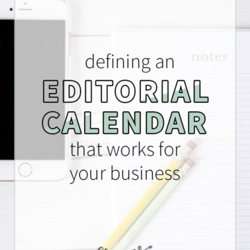 There is a lot of information out there about how often to share new blog posts. But what about what's best for your business or blog? Here are my tips for defining an editorial calendar that makes the most sense for your business! Blogging tips | business tips how to blog | small business tips | editorial calendar | social media calendar | blogging schedule | blogging calendar | post schedule