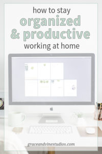 If you work from home, you know how important it is to stay on top of your work. Here are some tips for staying organized while working from home and being more productive.