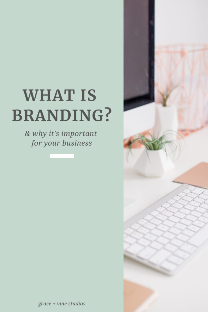 What is branding? Why is it important for your business? Branding is so much more than the visual branding for your business.