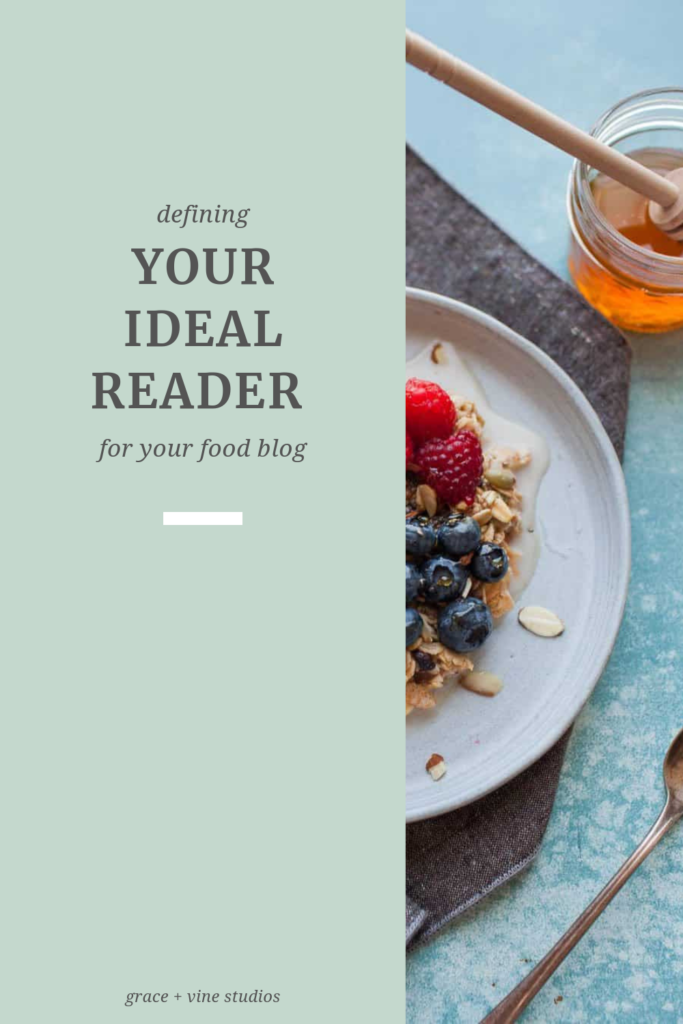 Whether you are starting a new food blog or have been doing this for a while, knowing your ideal reader is a huge factor in being able to grow your food blog. Here are some questions to answer to grasp who your ideal reader is and how you can connect with them to grow your blog!