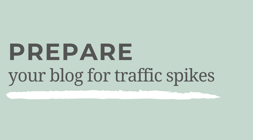 Prepare Your Blog for Traffic Spikes - The Vine Podcast