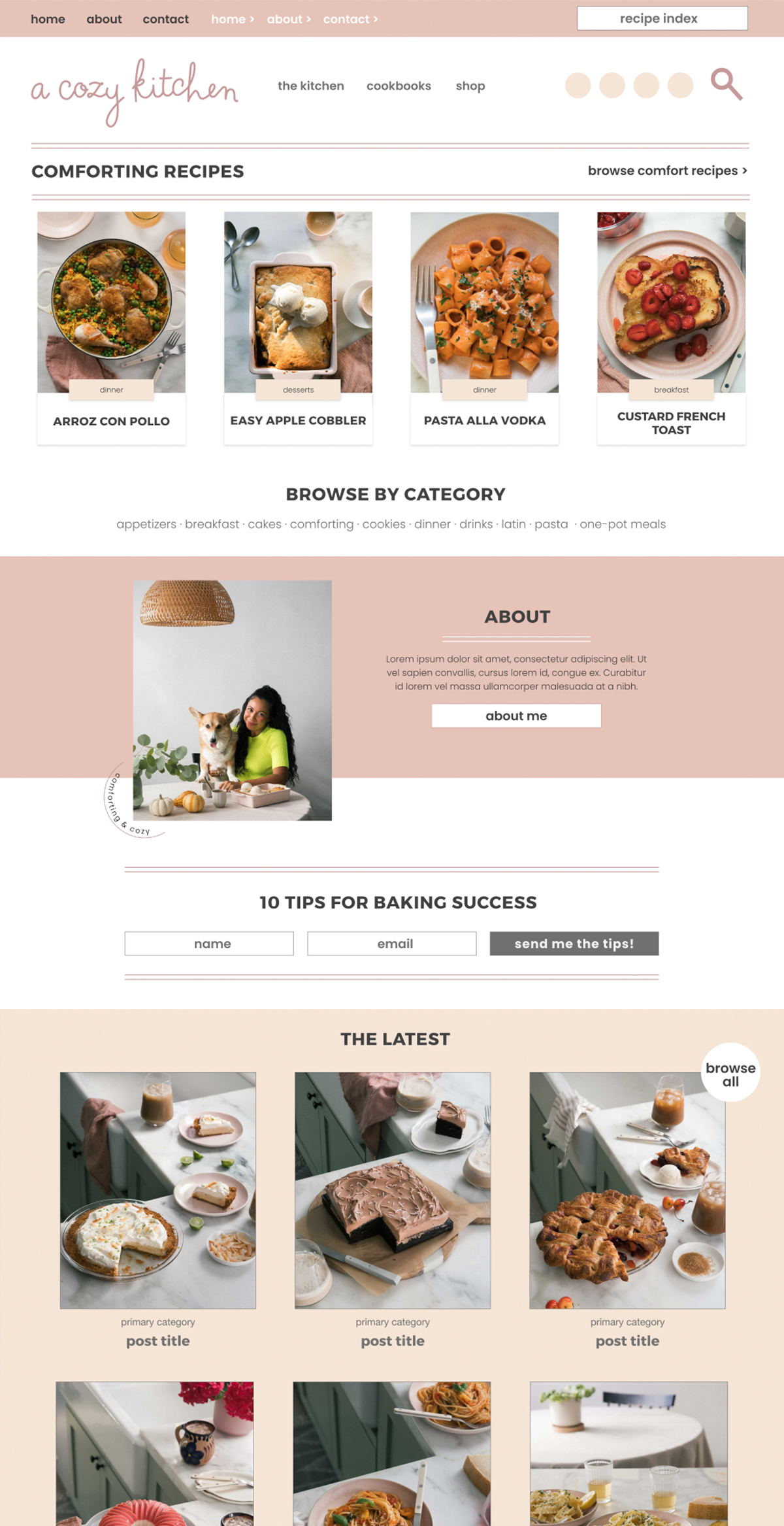 a-cozy-kitchen-web-design-food-blog