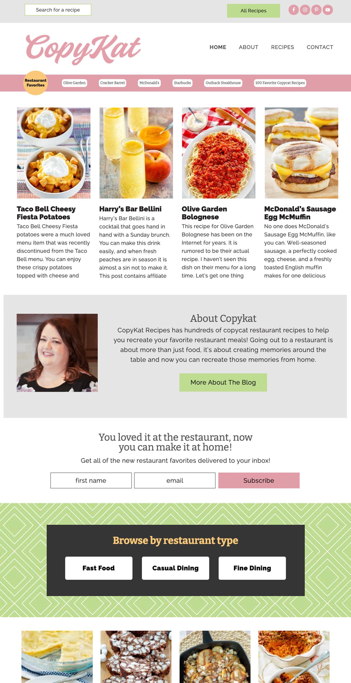 copykat-recipes-food-blog-web-design