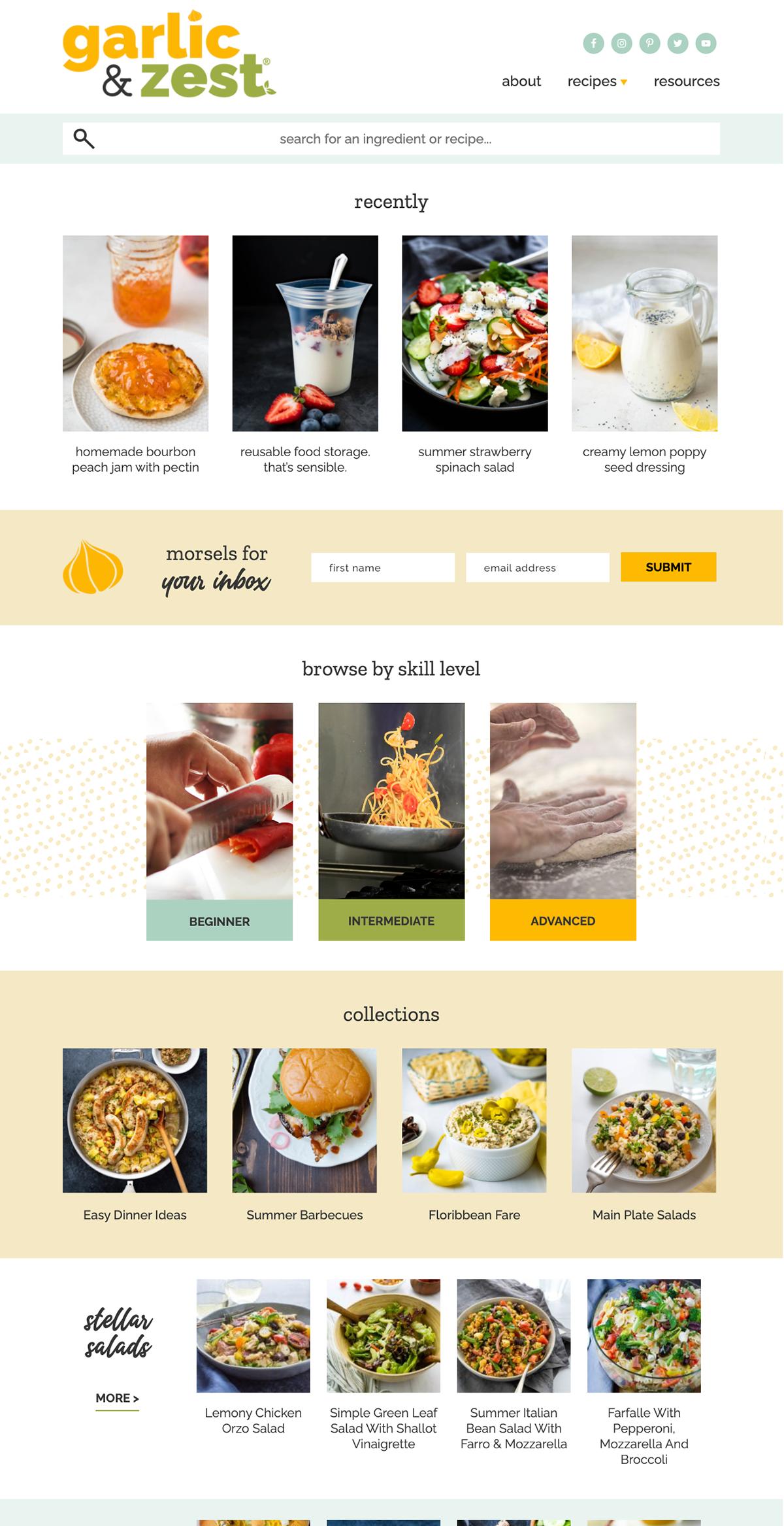 garlicandzest-web-design-for-food-bloggers